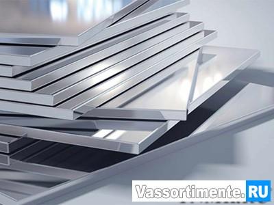 Плита алюминиевая 45х1500х3000 мм В95 ГОСТ 17232-99